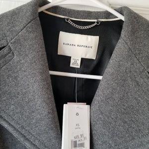 Banana Republic Jackets & Coats - Banana republic belted wool coat NWT
